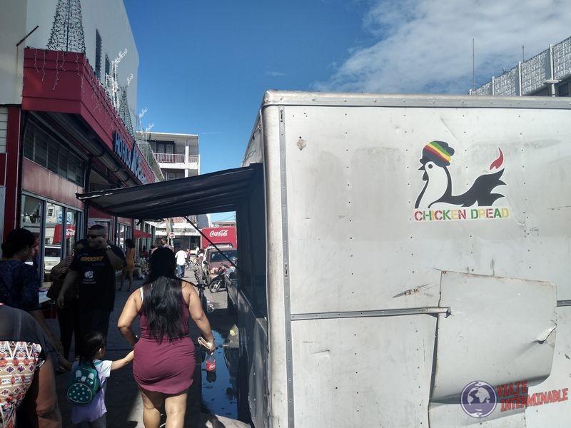 Belice Ciudad Belize City Dread Chicken Pollo Rastafari