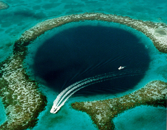 Gran Agujero Azul de Belice Belize Great Blue Hole