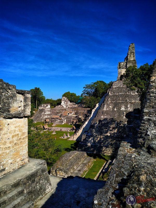 Plaza central de Tikal Jaguar Guatemala