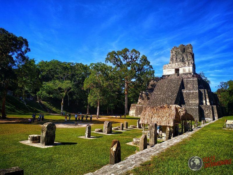 Templo de las Mascaras Tikal Guatemala