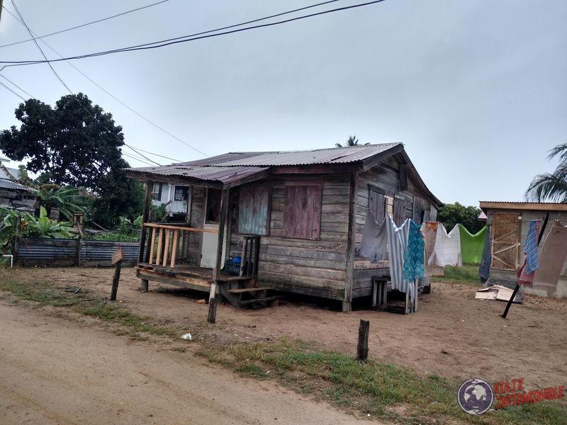Calles Casas Dangriga Belice Belize