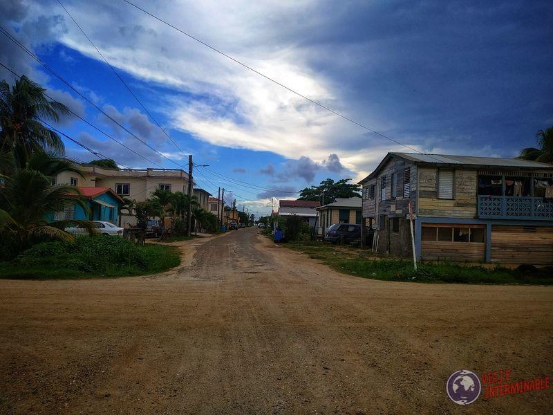Calles Dangriga Belize