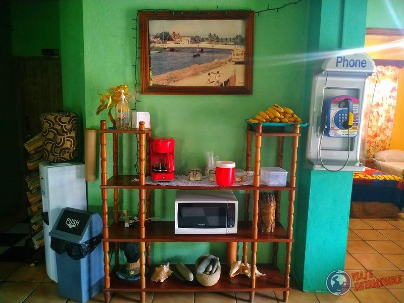 Comedor de Cheanor Hotel Belize