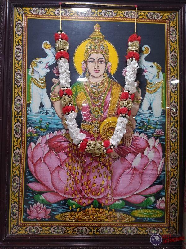Shiva Cuadro Templo Hindu Corozan Belice