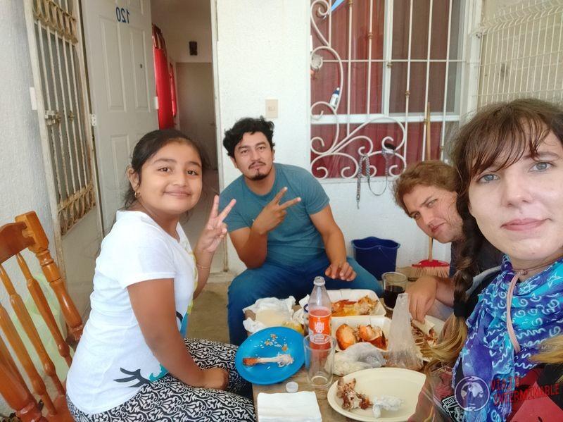 Invitacion Comida a Dedo Mexico