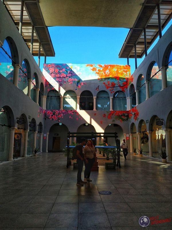 Mural en Merida Mexico vertical