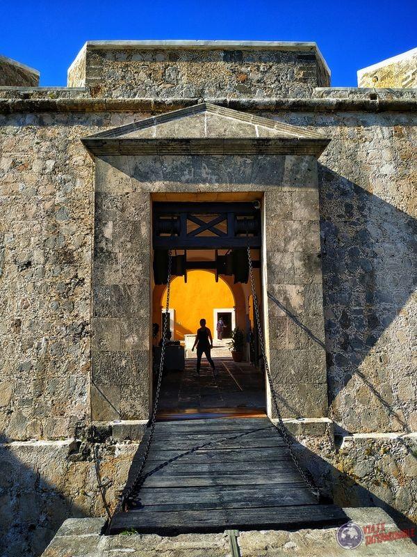 Puente levadizo Fuerte de San Miguel Campeche