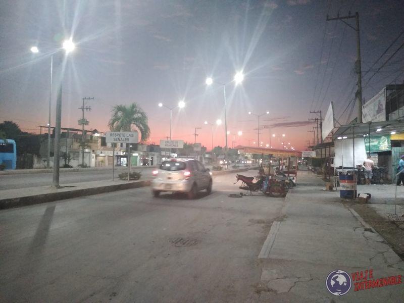 Escarcega Noche Mexico