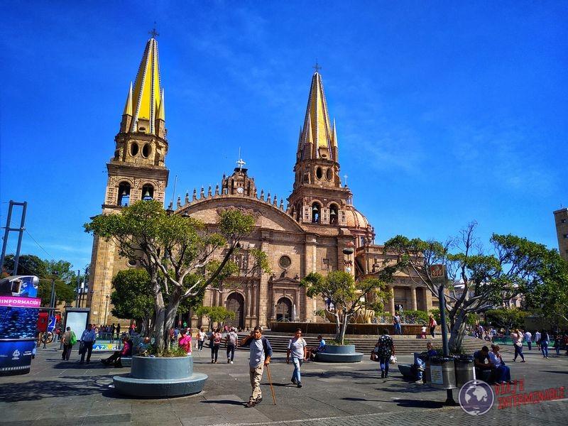 Catedral iglesia Guadalajara Mexico
