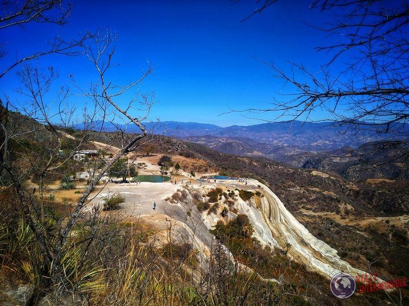 Piscinas naturales Parque cataratas petrificadas Mexico