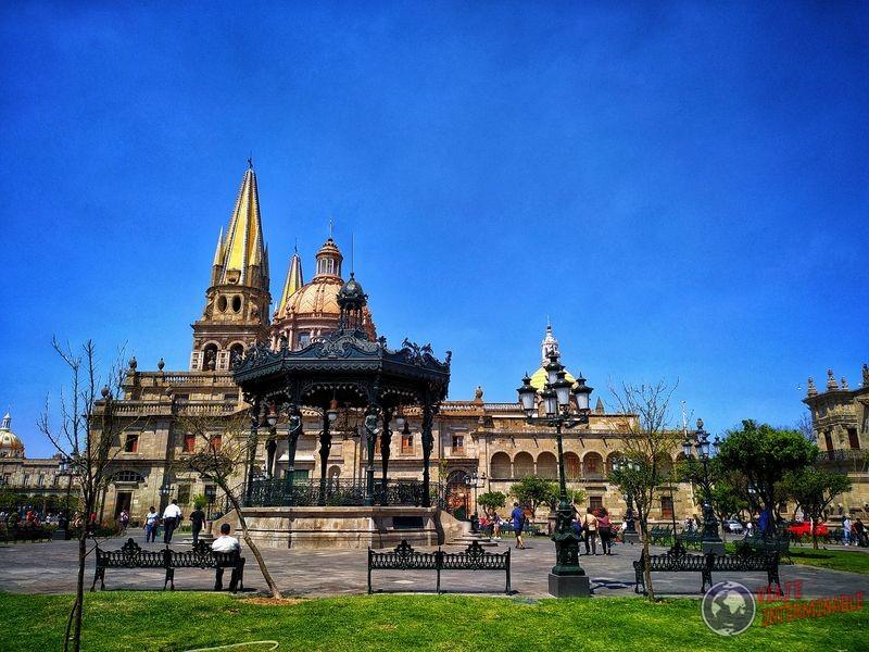 Plaza en Guadalajara Mexico