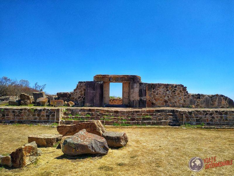 Ruinas Oaxaca no entramos por caro Mexico