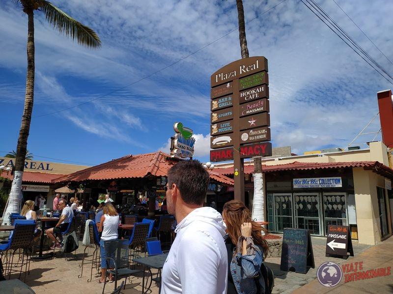 Carteles en ingles Cabo San Lucas Baja California Mexico