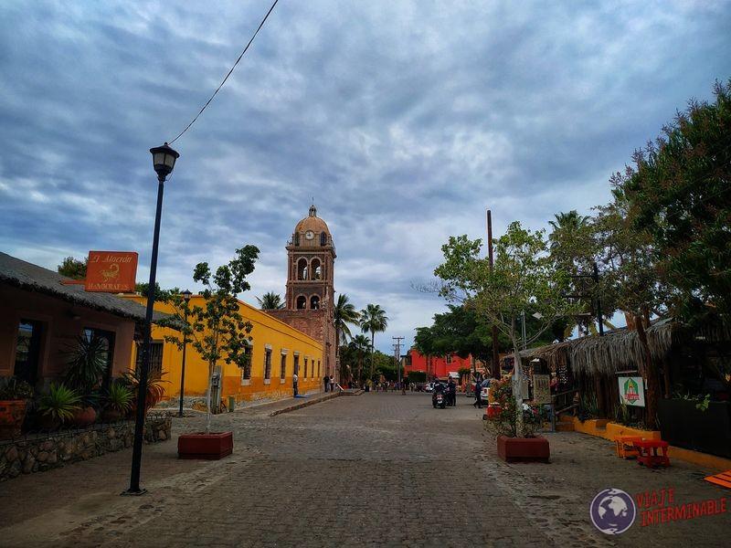 Peatonal de Loreto Baja California Mexico