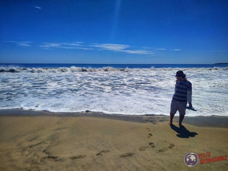 Playa y agua en San José del Cabo Baja California Mexico