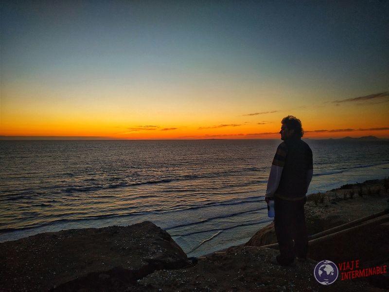 Atardecer playa Socorrito Baja California Mexico