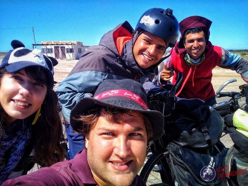 Brasilero por tercera vez ruta hacia Socorrito Baja California Mexico