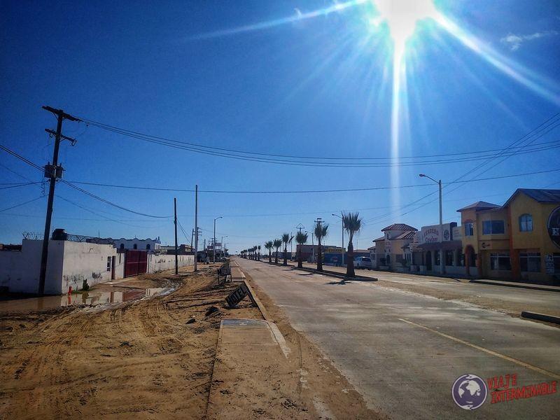Calles Guerrero Negro Baja California Mexico