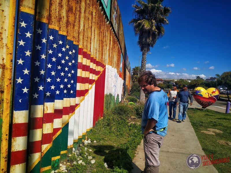 Muro Tijuana EEUU Baja California Mexico