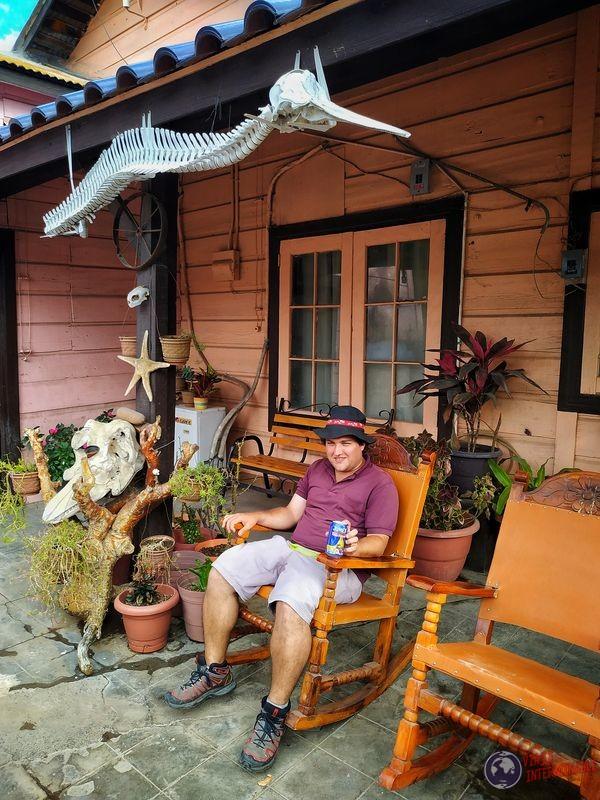 Wa campestre frente casa Santa Rosalía Baja California Mexico