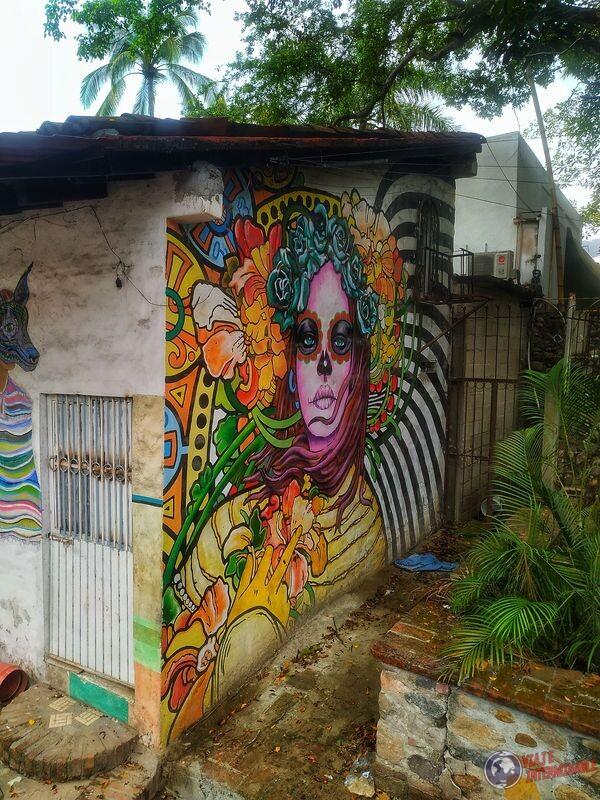 Grafiti Katrina Puerto Vallarta Mexico