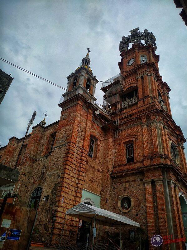 Iglesia ladrillos Puerto Vallarta Mexico