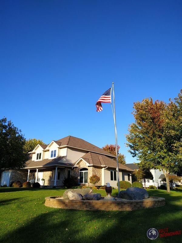 Casa Montevideo aguila Minnesota Estados Unidos