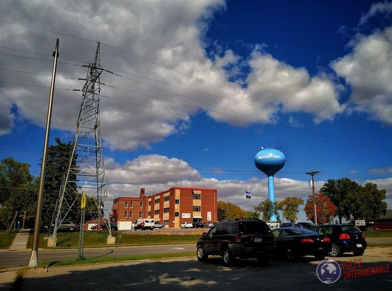 Montevideo Minnesota globo agua EEUU