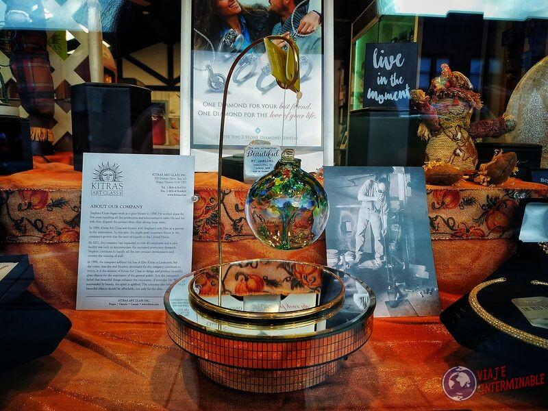 Adorno lindo vidriera Montevideo Minnesota EEUU