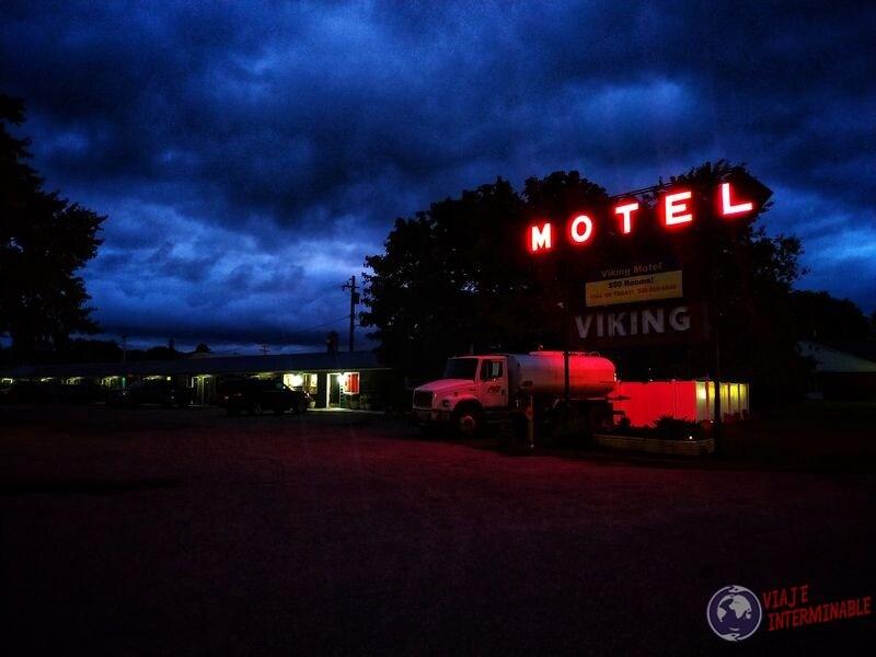 Motel de película Montevideo Minnesota EEUU