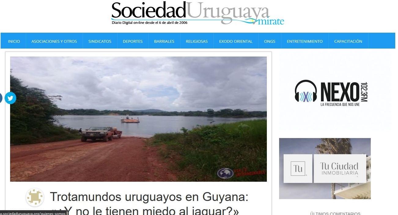 Prensa Sociedad Uruguaya Web 2 viajeinterminable.com