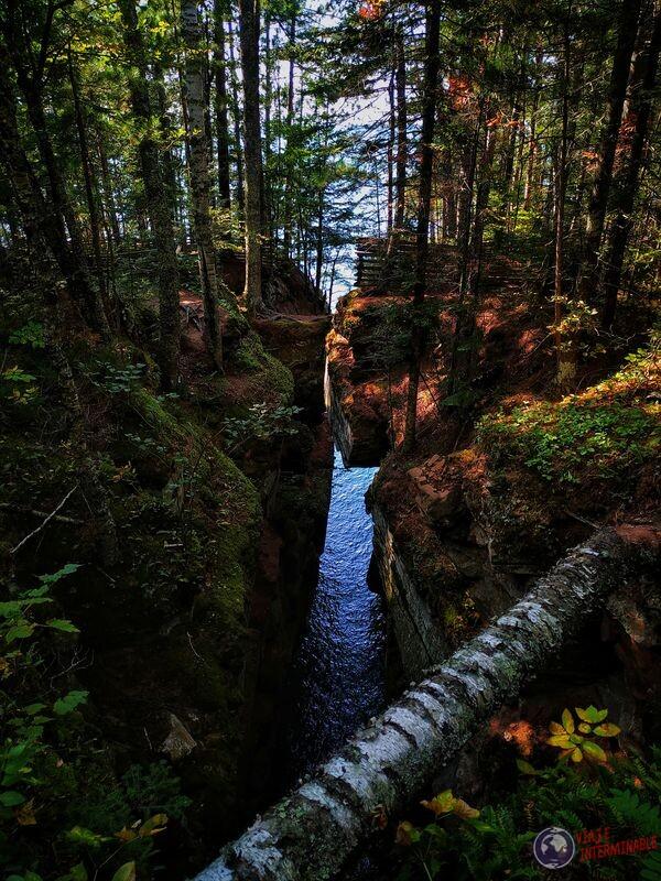 Camino Lago Superior punta Winsconsin EEUU