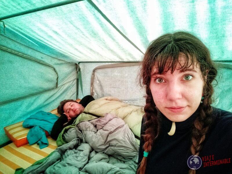 Despertar en el camper Winsconsin EEUU USA