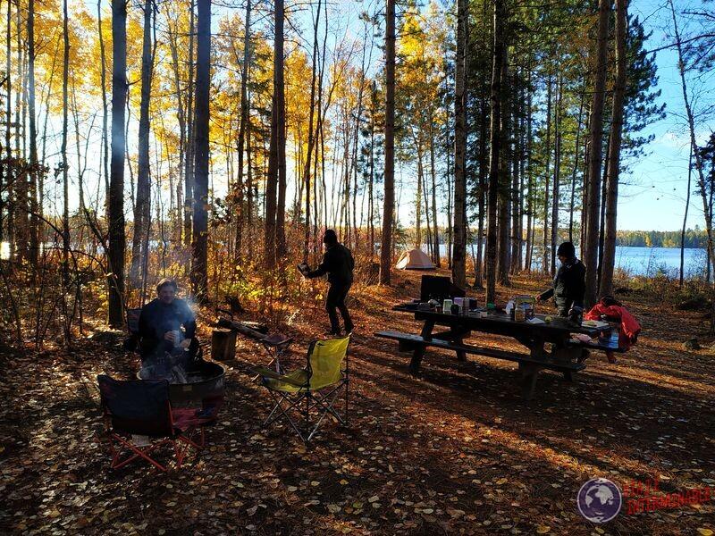 Camping en Minnesota EEUU USA