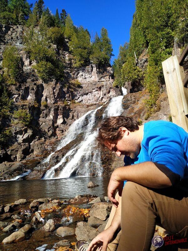 Caribou Falls EEUU USA