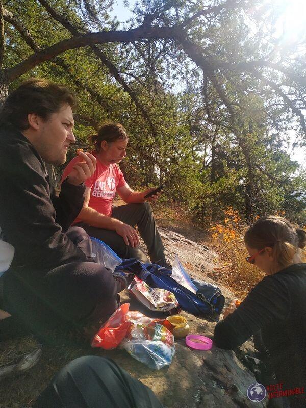 Comiendo en Eagle Mountain EEUU USA