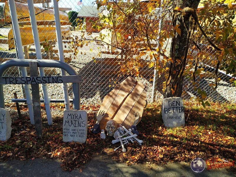 Decoraciones halloween Minnesota EEUU USA