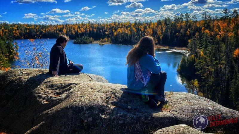Lago en Minnesota EEUU USA