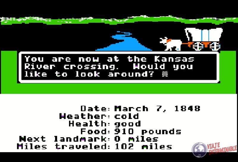 Oregon Trail videogame videojuego Minnesota EEUU