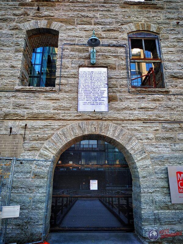 Entrada museo Gold Medal Flour entrada museo Minneapolis EEUU