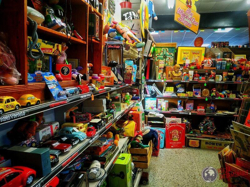 Estanterías juguetes retro Minneapolis Minnesota EEUU
