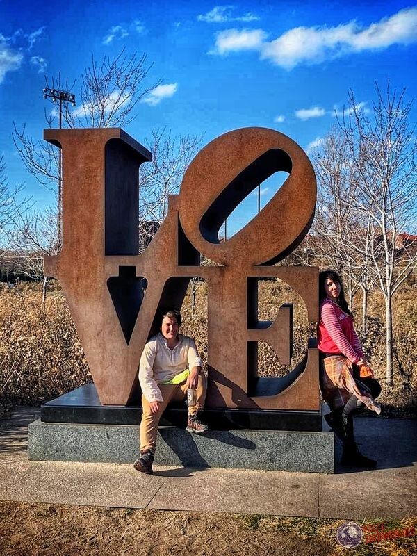 Love escultura parque de las esculturas Minneapolis Minnesota EEUU