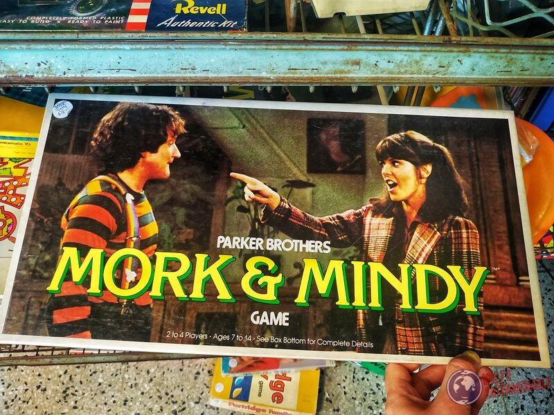Mork y Mindy juego de caja Timebomb Minneapolis EEUU